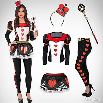Women's Red Queen Costume Idea