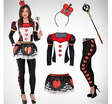 Women's Red Queen Costume Idea