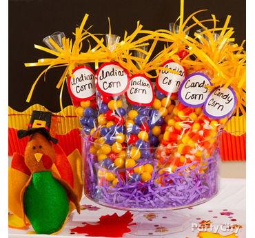 Candy Corn Favors Idea
