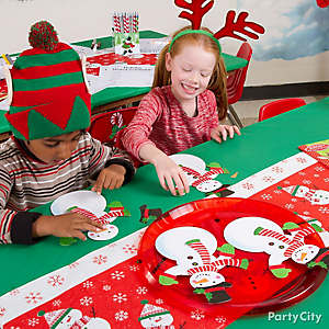 Christmas Kids Snowman Craft Idea