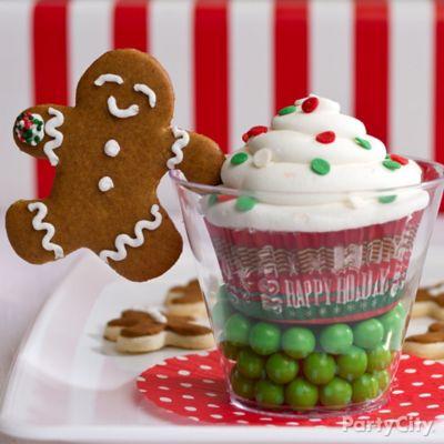 Beribboned holiday cake pops idea party city for Some good christmas treats to make