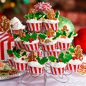 Christmas Tree of Cupcakes Idea