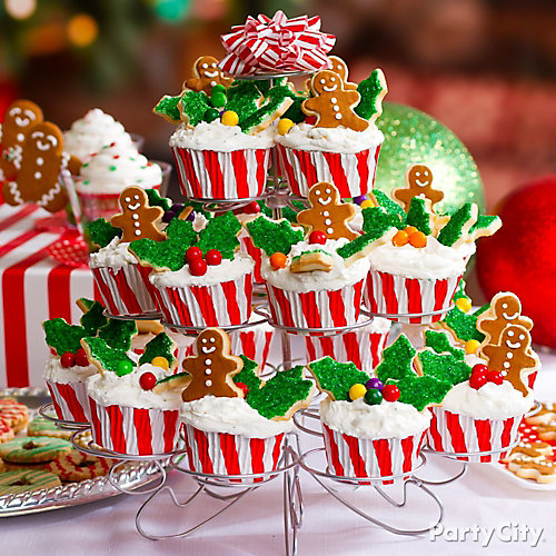 Christmas Tree of Cupcakes Idea