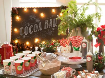 Hot Chocolate Station Ideas Christmas Party Ideas Holiday