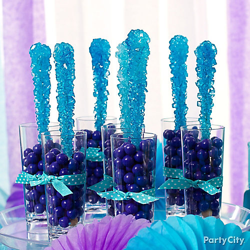 Sixlets Rock Candy Shooters Idea