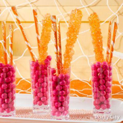 Candy Cordial Glasses Idea