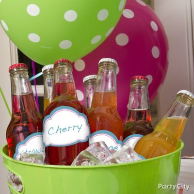 Personalized Soda Bottle Drink Labels Idea