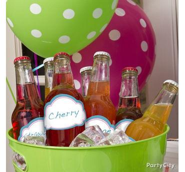 Personalized Soda Bottle Drink Labels Idea
