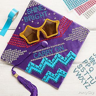 Shine Bright Star Sunglasses Grad Cap DIY