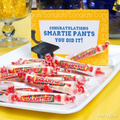 Smartie Pants Graduation Candy Sign Idea