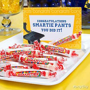 Smartie Pants Graduation Candy Sign Idea