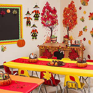 Fall Class Decorating Idea