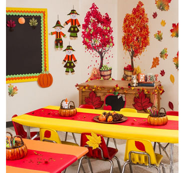 Fall Class Decorating Idea