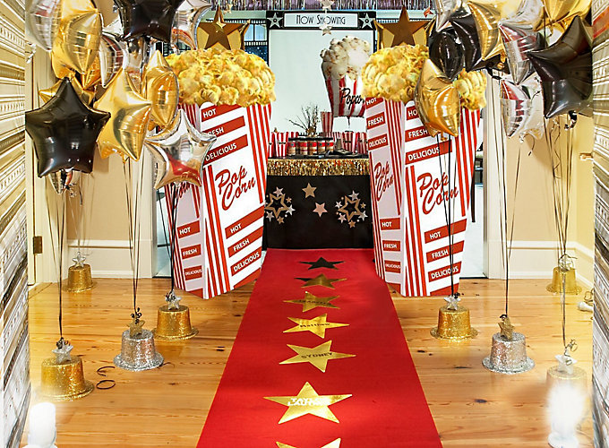 Red Carpet Hollywood Party Ideas