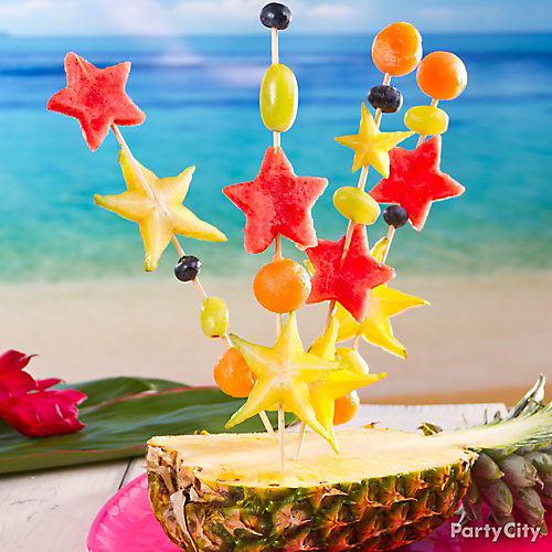 Fruit Star Skewers Idea
