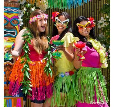 Hula Dancer Dress Up Idea