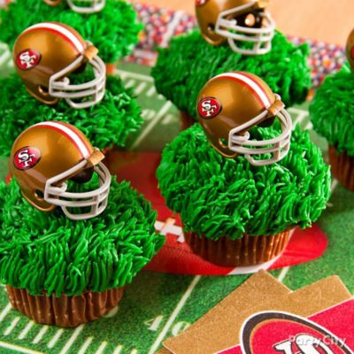 Football Team Cupcakes Idea