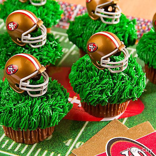 Football Team Cupcakes Idea