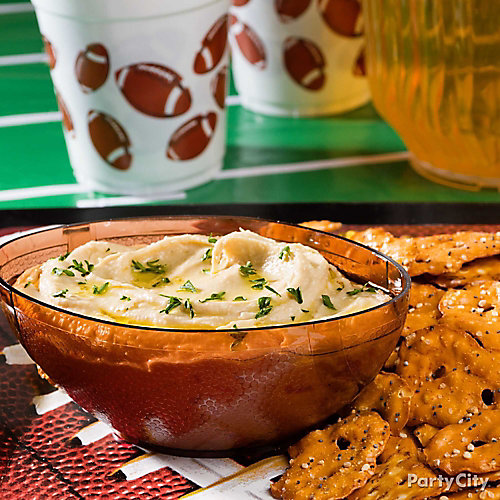 Football Party Serving Idea