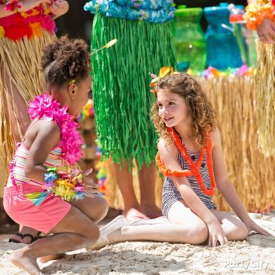Tropical Summer Kids Dress Up Ideas