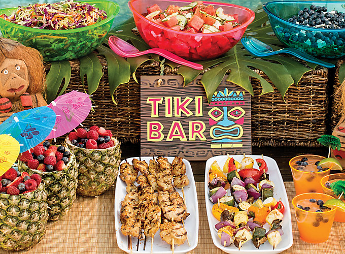 Caribbean Dinner Party Menu Ideas Part - 19: Luau Food Ideas