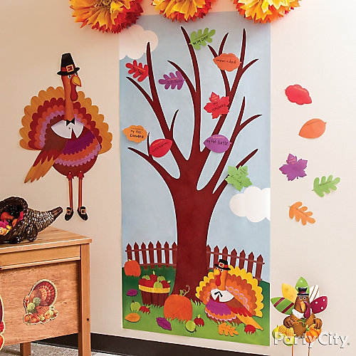 Thanksgiving Classroom Wall Decor : Kids tree game idea party city