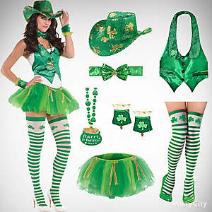 St. Patricks Sassy Cowgirl Outfit Idea