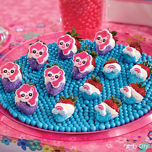 My Little Pony Candy Covered Strawberries How To