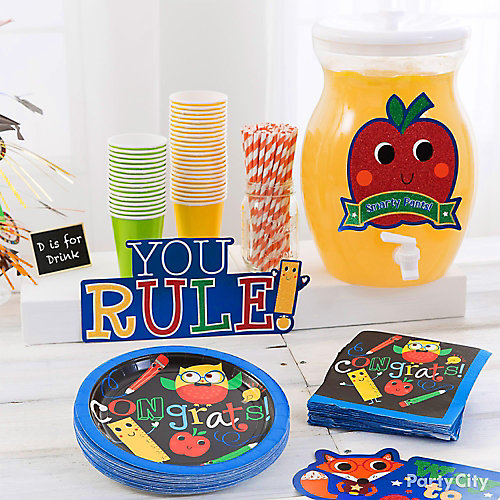 Kids Graduation Fruit Punch Stand Idea