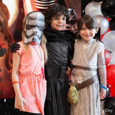 Star Wars Rey and Kylo Ren Costumes Idea