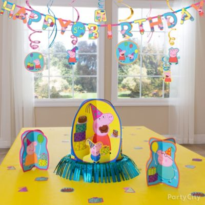 Peppa Pig Essential Decorations Idea