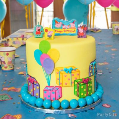 Peppa Pig Cake HowTo Party City