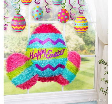 Easter Window Decorating Idea
