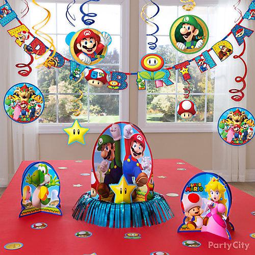 Super Mario Essential Decorations Idea