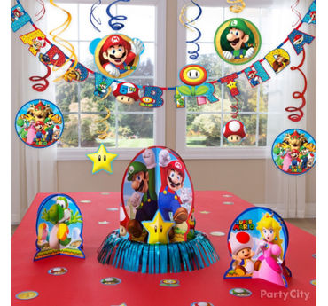 Super Mario Essential Decorations Idea