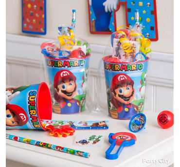Super Mario Favor Cup Idea