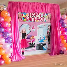 Barbie Runway Decorating Idea