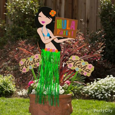 Flower Pot Decorating Idea