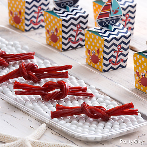 Licorice Ropes Candy Idea