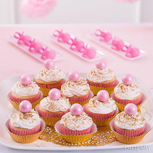 Good Princess Baby Shower Cupcakes Idea