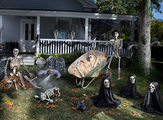 Backyard Haunted Forest Ideas : Haunted House Yard Ideas  Halloween Party Ideas  Holiday Party Ideas