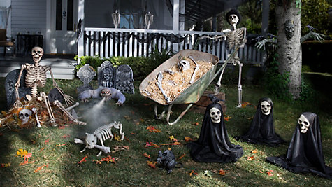 Haunted House Yard Ideas