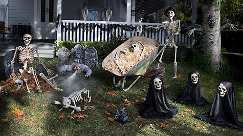 Haunted House Yard Ideas