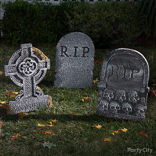 Sinister Tombstones Idea