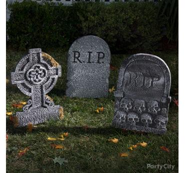 Sinister Tombstones Idea