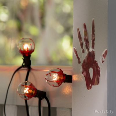 Bloody String Lights Idea