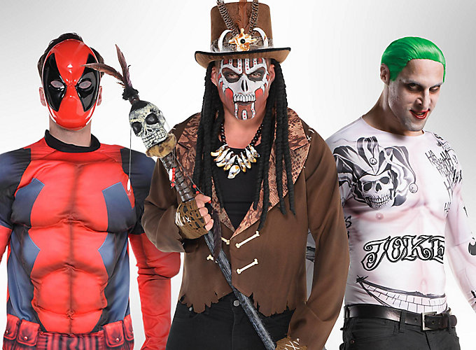 Top Men's Halloween Costume Ideas