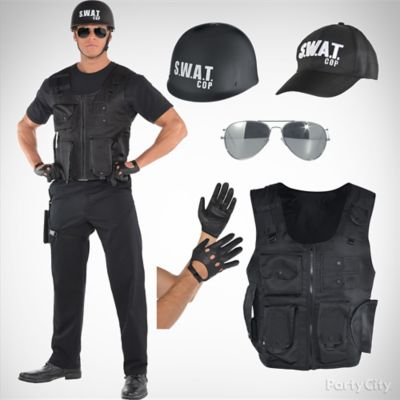 Mens SWAT Costume Idea