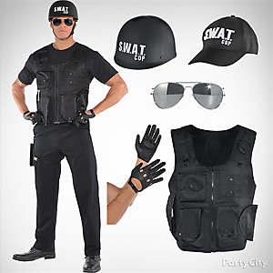Mens SWAT Costume Idea
