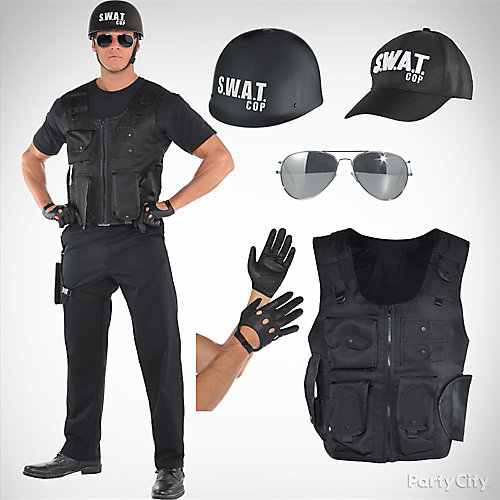 mens swat costume idea - Swat Costumes For Halloween